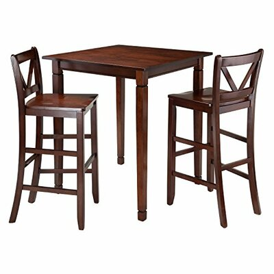 Luxury Home Kingsgate 3 Piece Dining Set