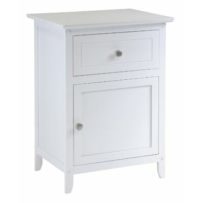 Luxury Home 1 Drawer Nightstand