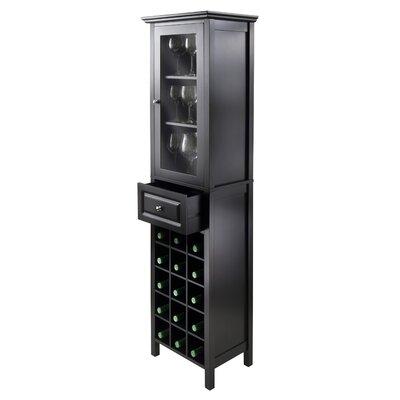 Luxury Home 15 Bottle Floor Wine Cabinet