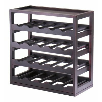 Luxury Home Kingston 20 Bottle Floor Wine Rack