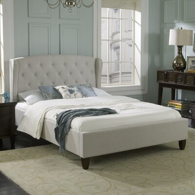 Luxury Home Brooklyn Upholstered Platform Bed