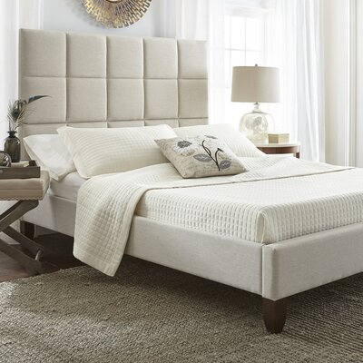 Luxury Home Abigail Upholstered Platform Bed