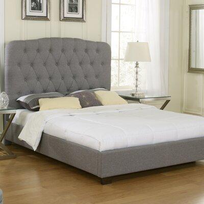 Luxury Home Aubree Upholstered Platform Bed