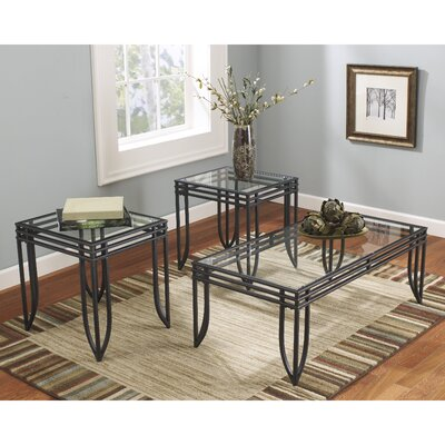 Flash Furniture Exeter 3 Piece Coffee Table Set