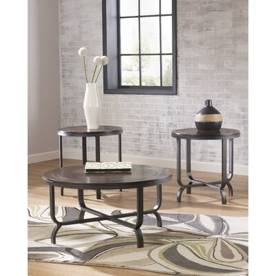 Flash Furniture Ferlin 3 Piece Coffee Table Set