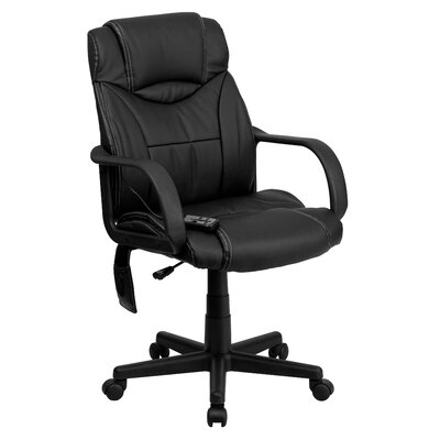Flash Furniture High-Back Leather Exec..