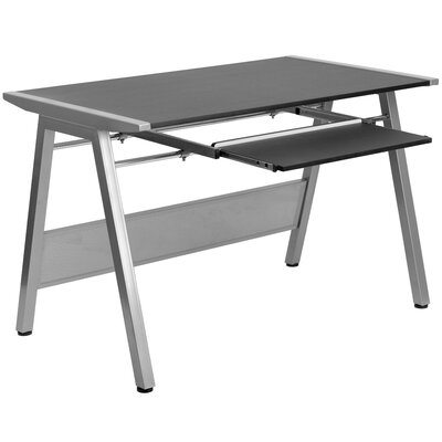 Flash Furniture Computer Desk with Pul..