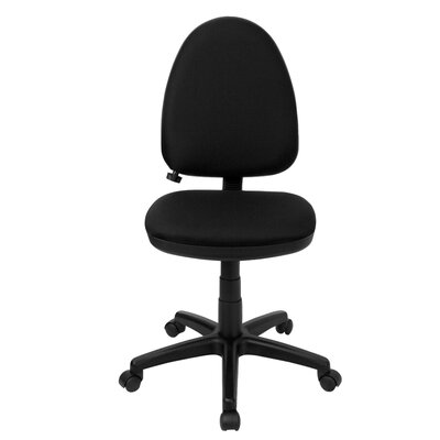 Flash Furniture Mid-Back Multi-Functional Task Chair with Adjustable Lumbar Support