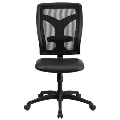 Flash Furniture High-Back Conference Chair with Padded Leather Seat