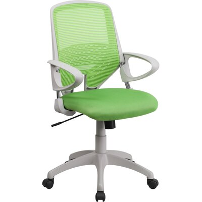 Flash Furniture Mesh Mid-Back Office Chair with Arms