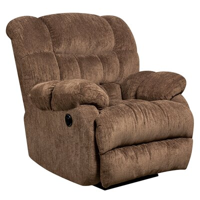 Flash Furniture Columbia Contemporary Microfiber Power Recliner with Push Button