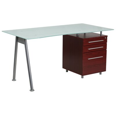 Flash Furniture Computer Desk with 3 Draw..