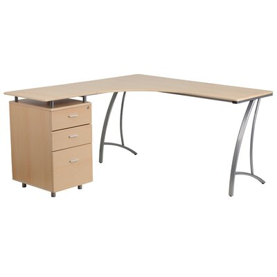 Flash Furniture L-Shaped Computer Desk..