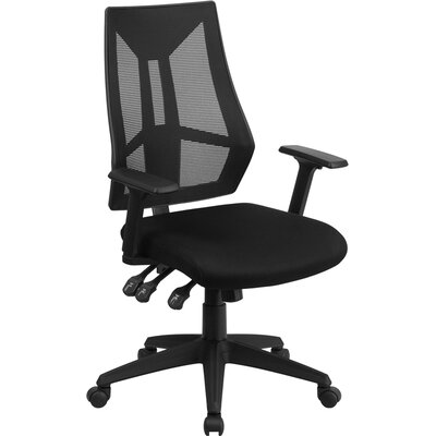Flash Furniture High-Back Mesh Chair with Arms