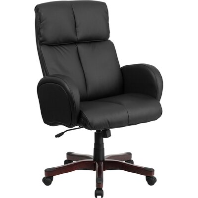 Flash Furniture High-Back Leather Chair