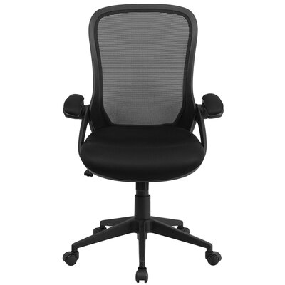 Flash Furniture High Back Mesh Executive Office Chair with Arms
