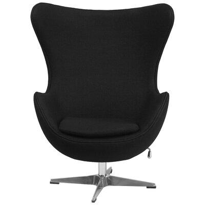 Flash Furniture Wool Fabric Egg Chair