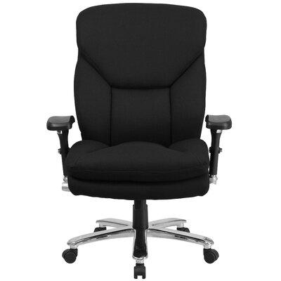 Flash Furniture Hercules Series Swivel Chair with Lumbar Support Knob