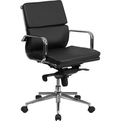 Flash Furniture Mid-Back Leather Conferen..