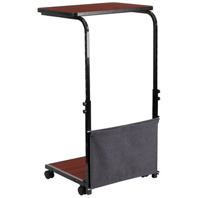 Flash Furniture Height Adjustable Desk wi..