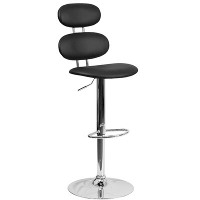 Flash Furniture Adjustable Height Swivel Bar Stool