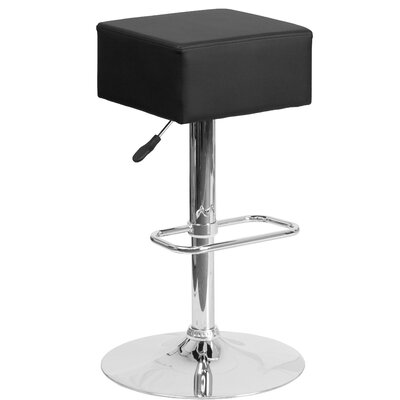 Flash Furniture Adjustable Height Swivel Bar..