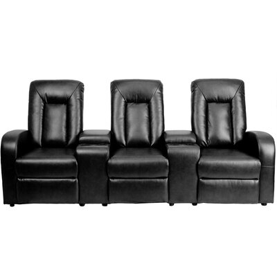 Flash Furniture Eclipse Series Home Theater Recliner (Row of 3)
