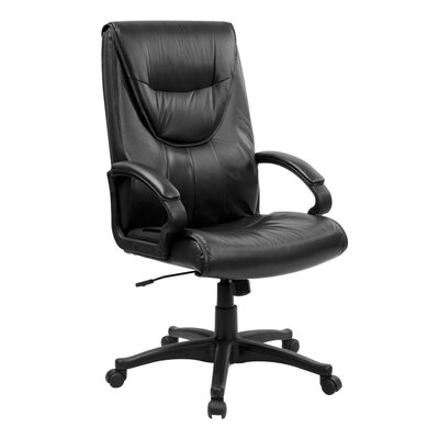 Flash Furniture High-Back Leather Executive Swivel Chair