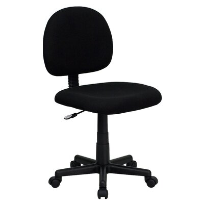 Flash Furniture Mid-Back Fabric Computer Task Chair