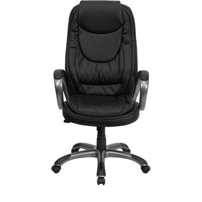 Flash Furniture Curved High-Back Executiv..
