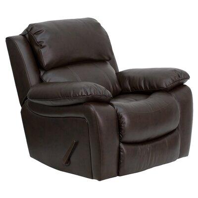 Flash Furniture Leather Rocker Recliner Reviews Wayfair