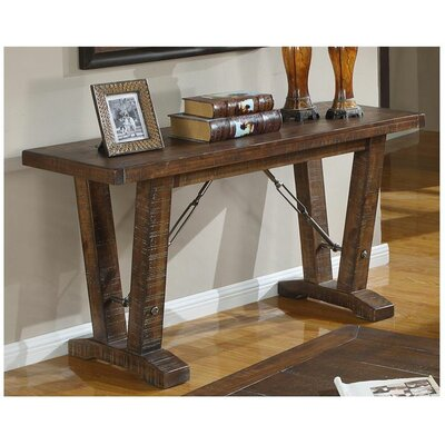 Loon Peak Waban Rustic Sofa Table