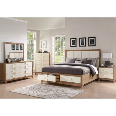 Brayden Studio Sirius Platform Customizable Bedroom Set