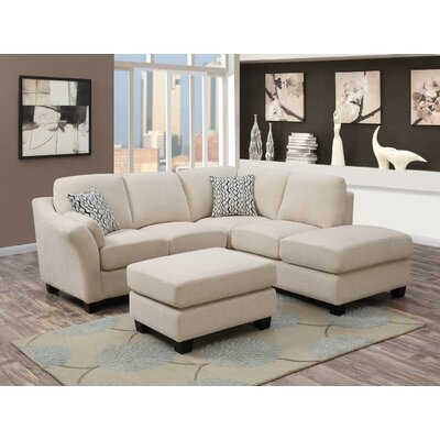 Emerald Home Furnishings Clayton II 2 Piece Sectional Set