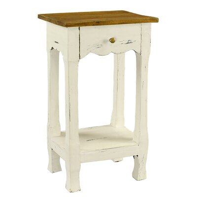 Antique Revival Amelia 1 Drawer Nightstand