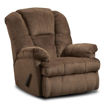 Chelsea Home Furniture Orange Recliner