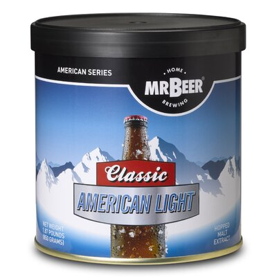 Mr beer mr beer classic american light beer making for Classic american homes reviews