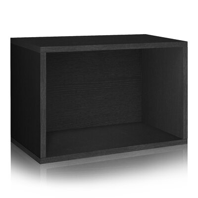 Way Basics Stackable Rectangle Cubby Stor..