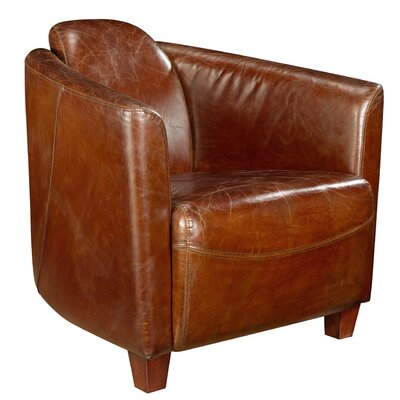 Trent Austin Design Hale Leather Arm Chair