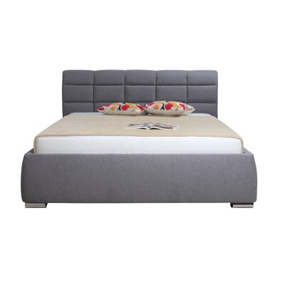 Moe's Home Collection Queen Upholstered Storage Platform Bed