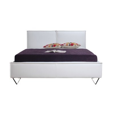 Moe's Home Collection Upholstered Panel Bed