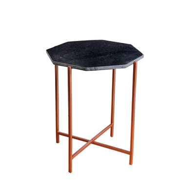 Bungalow Rose Duryea End Table