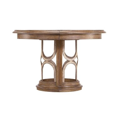 Stanley Furniture Archipelago Monserrat Round Pedestal Extendable Dining Table