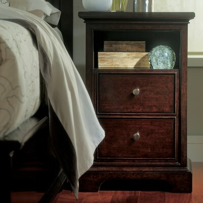 Canora Grey Turner 2 Drawer Nightstand