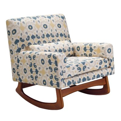 Nursery Works Sleepytime Rocker in Bazaar Spring