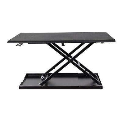 Luxor Pneumatic Adjustable Desktop Desk