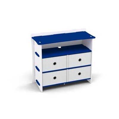 Legare Furniture Race 4 Drawer Double Dresser