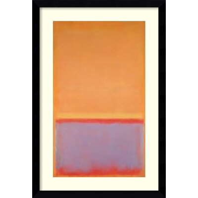 amanti art 1954u0027 by mark rothko framed print painting wayfair
