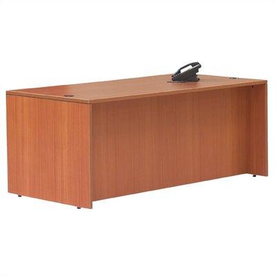 Offices To Go Superior Laminate Rectangular Executive Desk Shell
