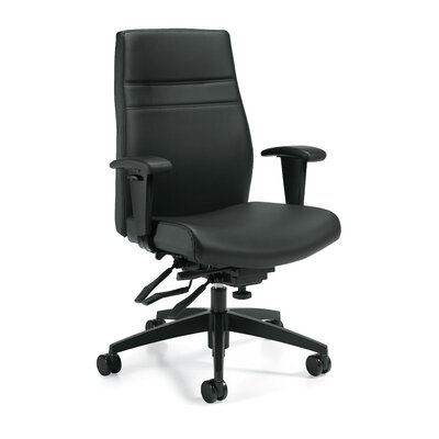 Offices To Go High-Back Leather Executive..